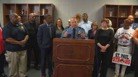 St. Paul police chief announces increased patrols after 3 deadly shootings in 9 hours