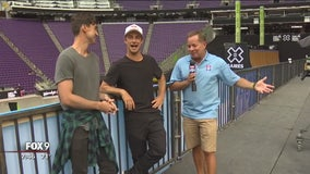 X Games in full swing at U.S. Bank Stadium
