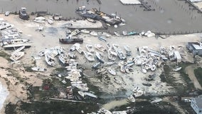 U.S. Coast Guard shares devastating photos of Bahamas port after Hurricane Dorian