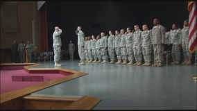 Nearly 700 Minnesota National Guard soldiers deploying to the Horn of Africa