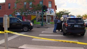 Five injured after stolen car hits pedestrians, damages building in south Minneapolis