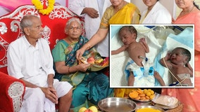'World's oldest mom' gives birth to twins at age 74 after IVF, hospital claims
