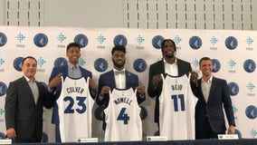 Wolves introduce draft picks, sign Naz Reid