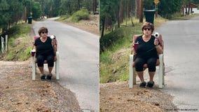 Grandmother uses hair dryer as fake radar gun to deter speeding on local street