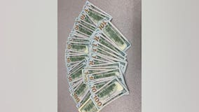 $5,000 found along highway in Wyoming, Minn. after wind takes motorcycle driver's money