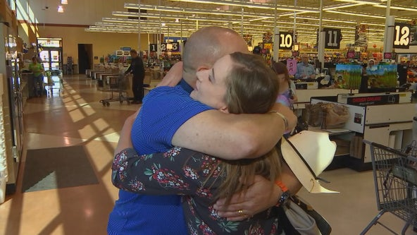 Act of kindness in the grocery line inspires Minnesota mom to pay it forward