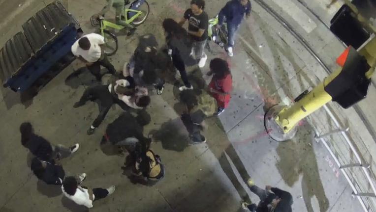 assault downtown Minnepolis