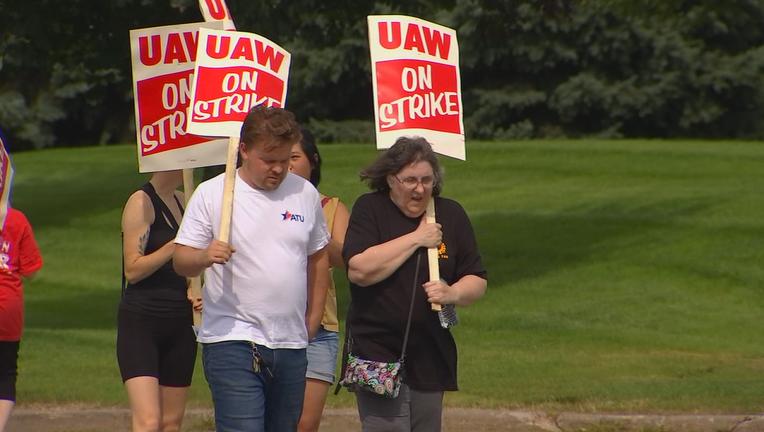 UAW strike in Hudson