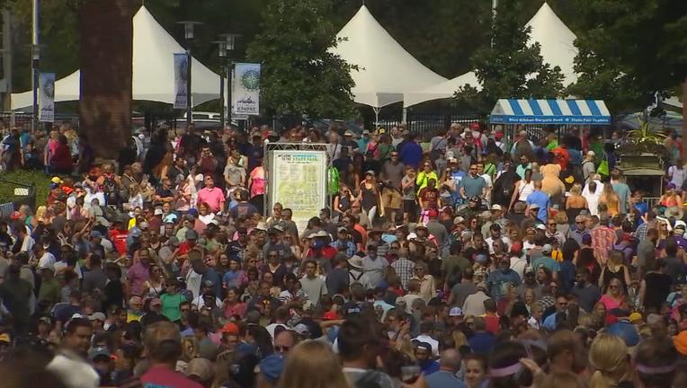 State Fair crowds 2019