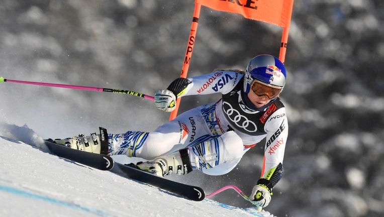 Lindsey Vonn World Cup downhill