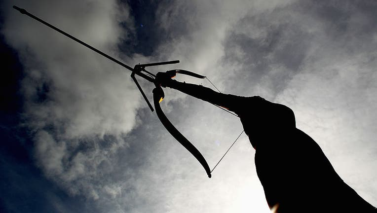GETTY_bow and arrow