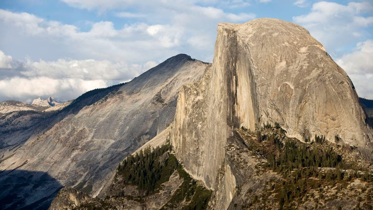 Half dome, rocky formation, Yosemite National Park, California, United State. (Photo by: Andia/Universal Images Group via Getty Images)