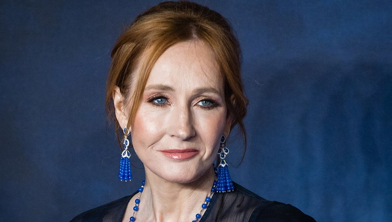J.K Rowling attends the UK Premiere of