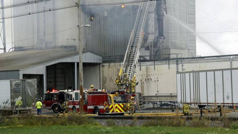 Fire at Jennie-O Plant in Barron County