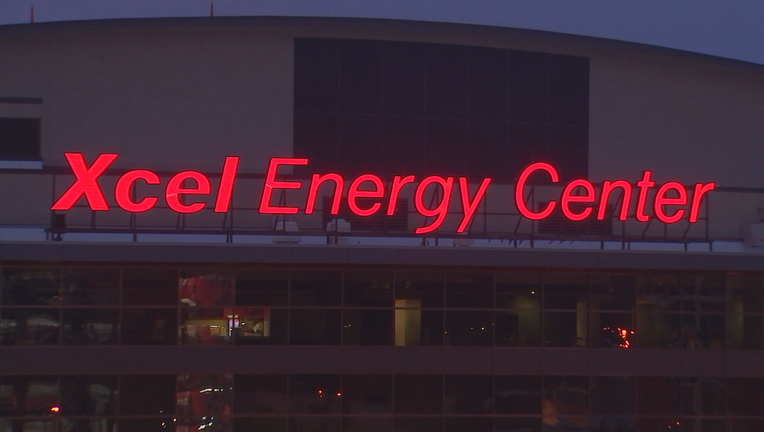 Xcel Energy Center in St. Paul, Minnesota