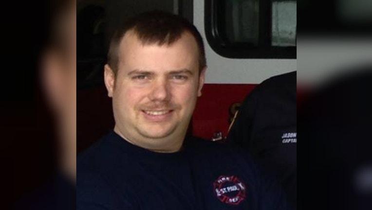 Firefighter Thomas Harrigan