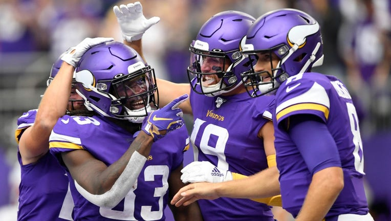 Vikings dominate Falcons, win opener 28-12 | FOX 9