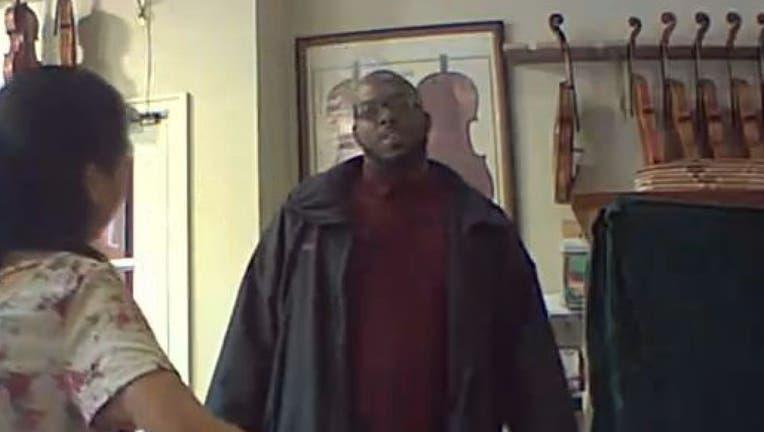 violin theft suspect