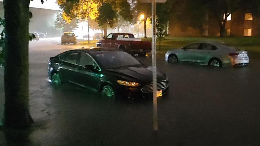 Storm brings flash flooding, hail to North Dakota