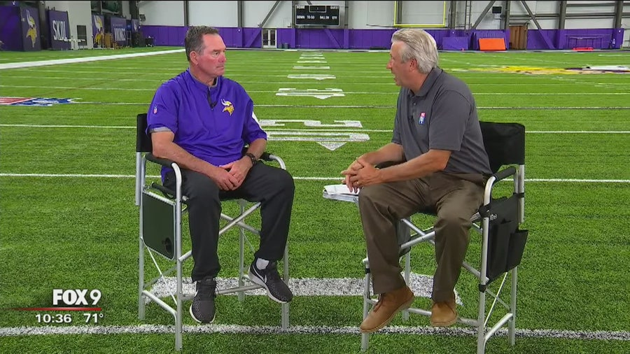 1 on 1: Head Coach Mike Zimmer sits down with FOX 9 Sports NOW