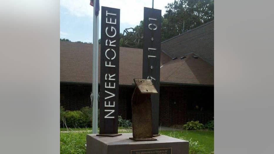Coon Rapids 9/11 memorial