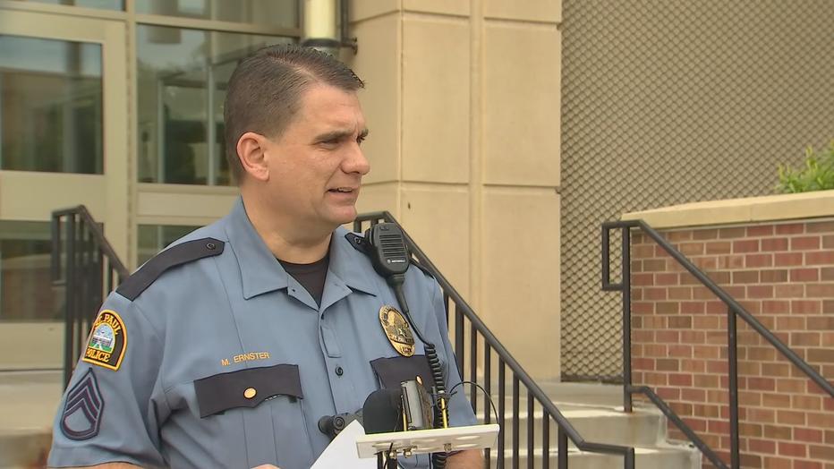 St. Paul Police Sgt. Ernster
