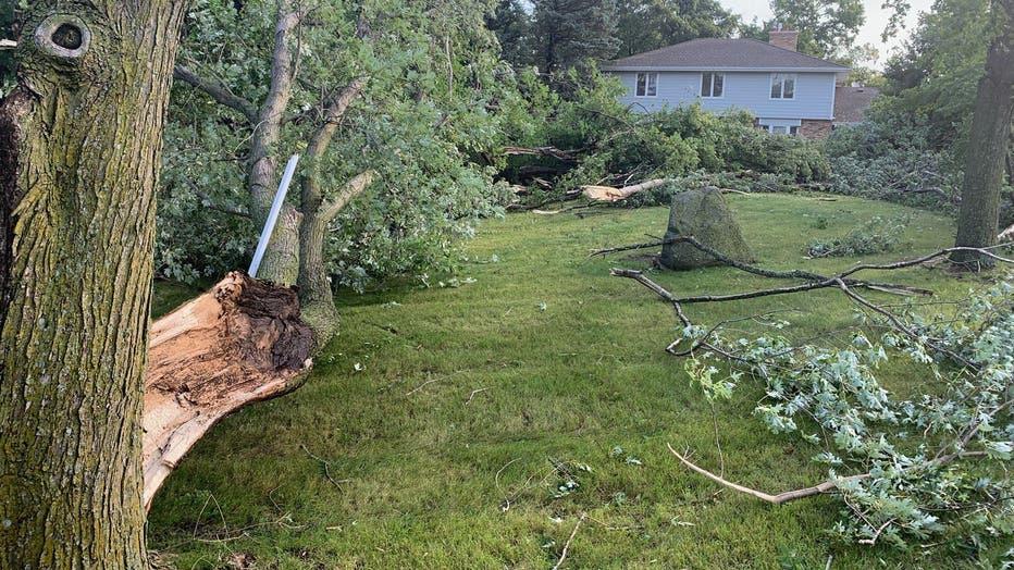 Minnetrista tornado damage
