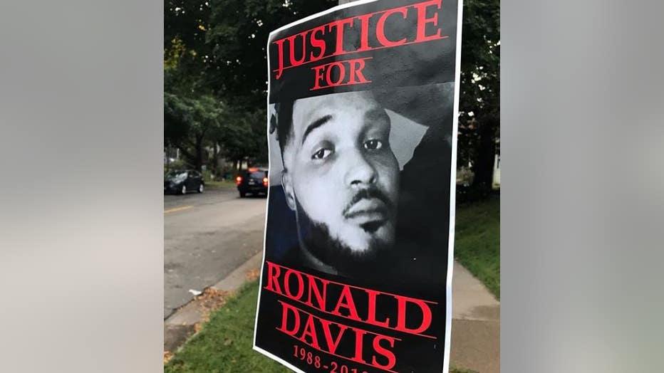 Ronald Davis poster