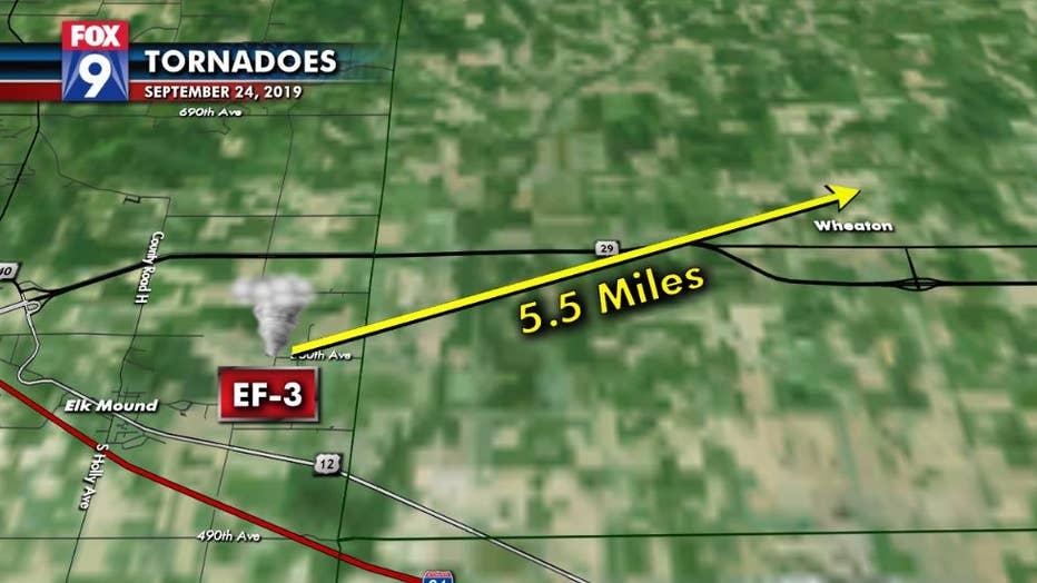 Tornado details