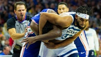 Karl-Anthony Towns gets 2-game suspension for fight with Embiid in Philly