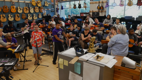 '3 Strings' of opportunity: Music teacher forms rock band for students with special needs