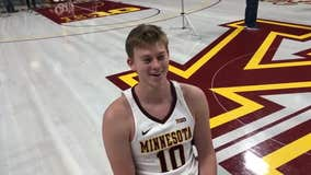 Gophers' Rudrud on getting scholarship: 'It's something you dream about'
