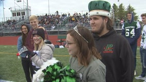 'Staying strong': Teen battling bone cancer named Homecoming King