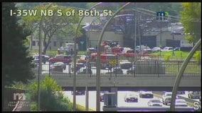 Authorities investigate fatal crash on I-35W in Bloomington, Minn.