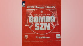 New red, 'Bomba SZN' Homer Hankies return for Twins' postseason