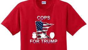 "Minneapolis Police union unveils ""COPS FOR TRUMP"" shirts in response to uniform policy change"