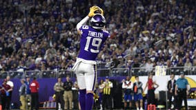 Vikings place WR Adam Thielen on reserve/COVID-19 list