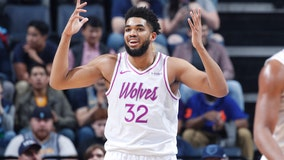 Timberwolves' Karl-Anthony Towns approached to join gym basketball league because he's 'tall'