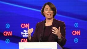 U.S. Sen. Amy Klobuchar qualifies for Democratic debate in November