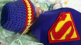 Babies in St. Cloud NICU get decked out for Halloween