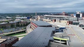 MnDOT helps build solar garden on top level of Ramp A in downtown Minneapolis