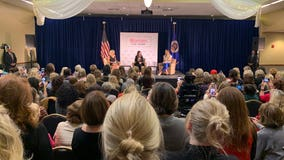 Second Lady, Lara Trump host 'Women for Trump' event in St. Paul