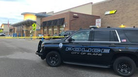 1 shot in Walmart parking lot in Blaine, 1 in custody