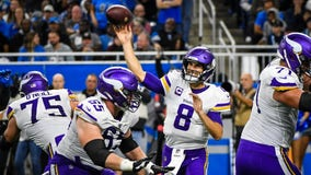 Next man up: Cousins, Cook dominate Lions with Thielen out