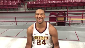 Gophers forward Eric Curry says his 'spirits are high' despite latest knee injury