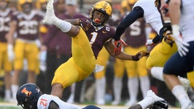 Rodney Smith has career day in Gophers' 40-17 win over Illinois