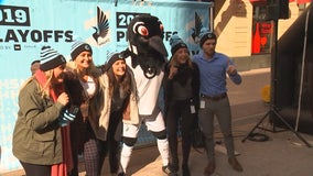 Minnesota United kicks off playoff atmosphere with Nicollet Mall block party