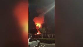 Five injured after transformer explodes during Huntington Beach Oktoberfest