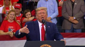 Some President Trump claims were inaccurate, inflated at Minneapolis rally