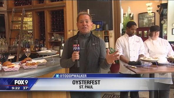 Oysterfest kicks off in St. Paul